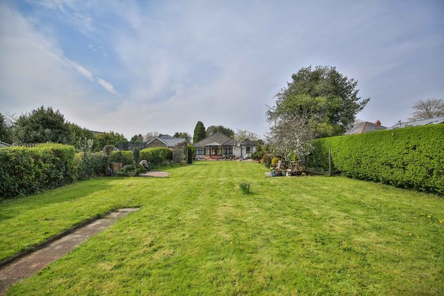 Thumbnail Detached bungalow for sale in St Mellons Road, Marshfield, Cardiff