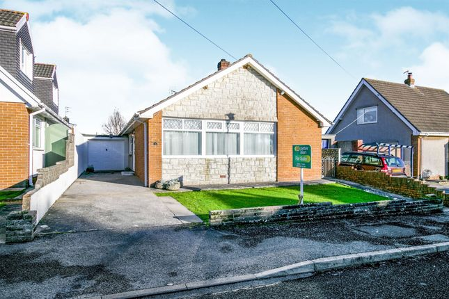 Thumbnail Detached bungalow for sale in Davies Avenue, Nottage, Porthcawl