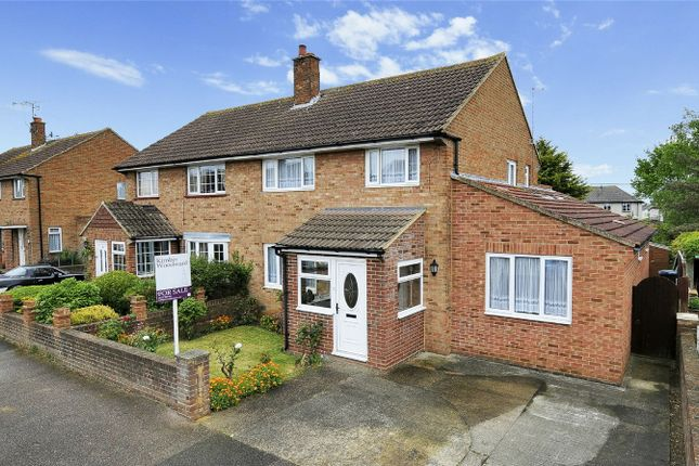 Thumbnail Semi-detached house for sale in Fitzgerald Avenue, Herne Bay, Kent