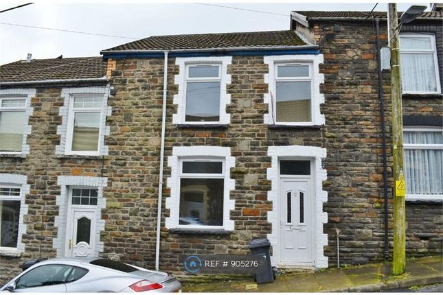 Thumbnail Terraced house to rent in Penn Street, Treharris