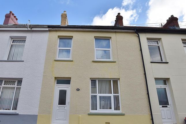 Thumbnail Terraced house for sale in Brodog Terrace, Fishguard