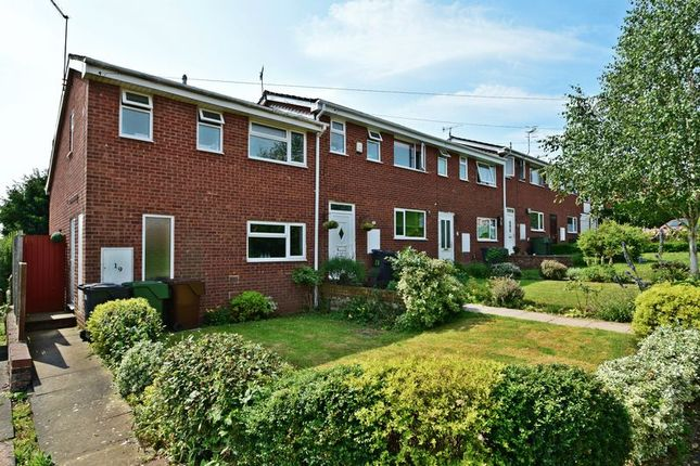 Thumbnail Terraced house for sale in Cardinal Crescent, Bromsgrove