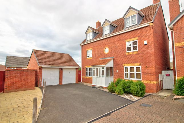 Thumbnail Detached house for sale in Guestwick Green, Hamilton, Leicester