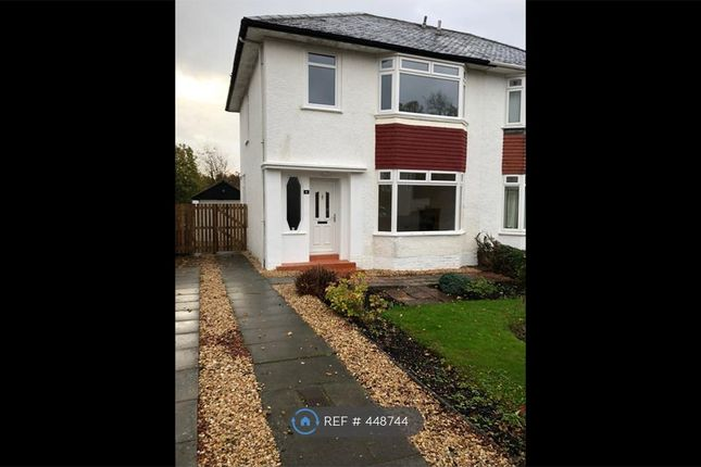 Thumbnail Semi-detached house to rent in Woodbank Crescent, Glasgow
