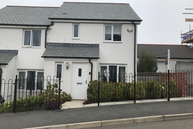 Thumbnail End terrace house to rent in Callington Road, Liskeard