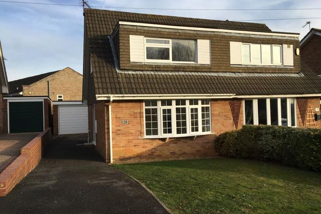 Thumbnail Semi-detached house to rent in Aintree Road, Northampton