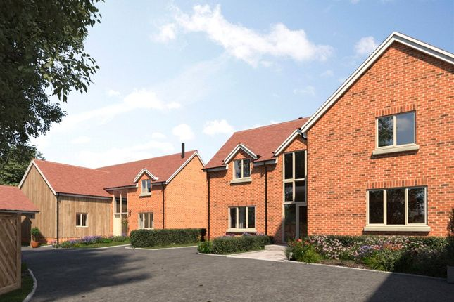 Thumbnail Country house for sale in New Houses, Cliddesden