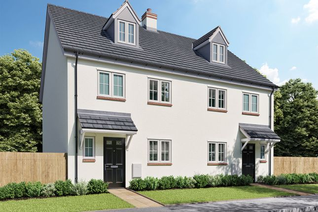 """4 bed semi-detached house for sale in """"The Aslin A"""" at Norton Road, Thurston, Bury St. Edmunds IP31"""