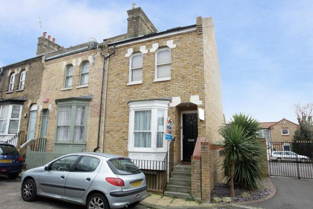 Thumbnail End terrace house to rent in Hibernia Street, Ramsgate