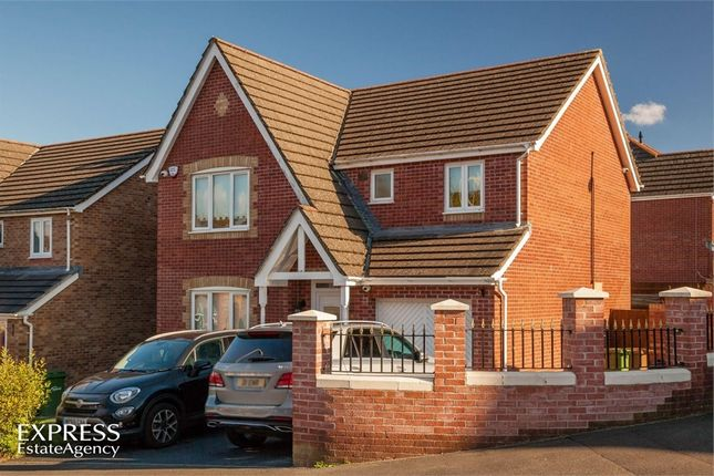 Thumbnail Detached house for sale in Burnet Drive, Pontllanfraith, Blackwood, Caerphilly
