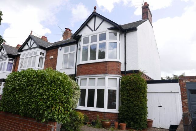 Thumbnail Semi-detached house to rent in Chestnut Avenue, York, North Yorkshire