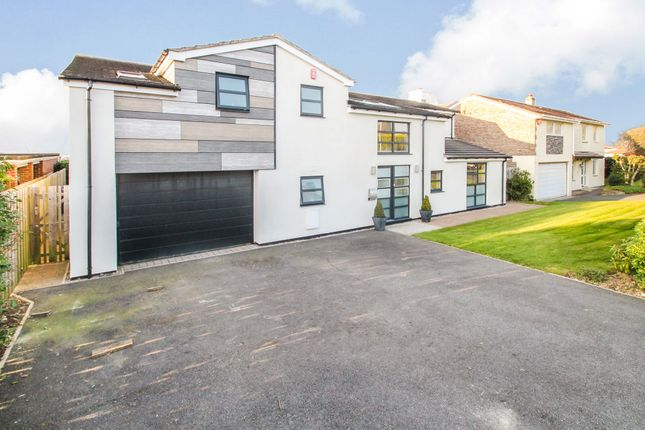 Thumbnail Detached house for sale in Powisland Drive, Derriford, Plymouth