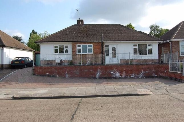Thumbnail Bungalow for sale in Summerlea Road, Leicester