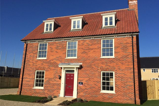 Thumbnail Detached house for sale in Bromedale Avenue, Mulbarton, Norwich