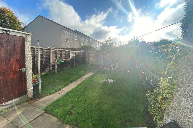 Garden of Ely Close, Birmingham B37