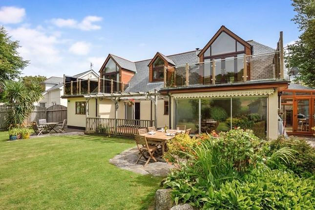 Thumbnail Detached house for sale in Perrancoombe, Perrancoombe, Perranporth