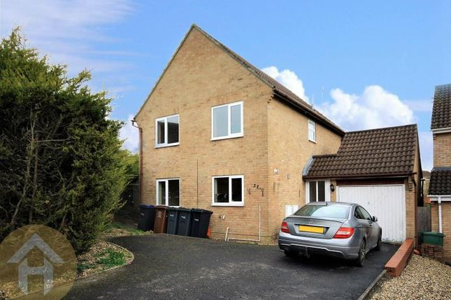Thumbnail Detached house to rent in Garraways, Royal Wootton Bassett