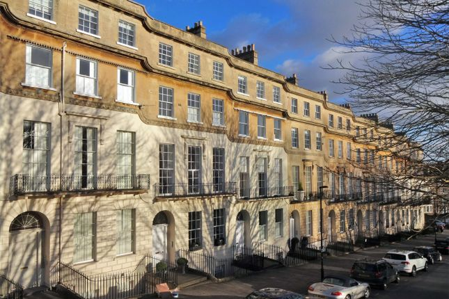 Thumbnail 4 bedroom flat for sale in The Upper Maisonette, 12 Cavendish Place, Bath
