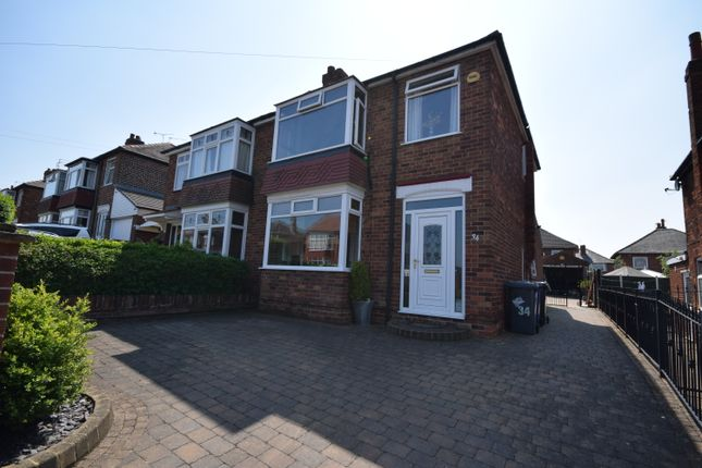 Thumbnail Semi-detached house to rent in Boundary Avenue, Doncaster