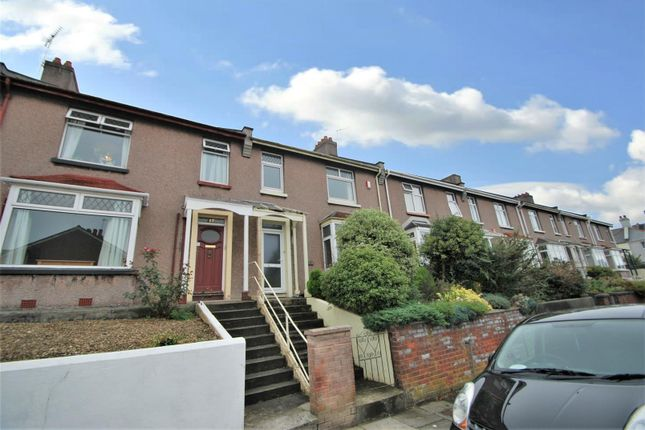 Thumbnail Terraced house to rent in Browning Road, Stoke, Plymouth