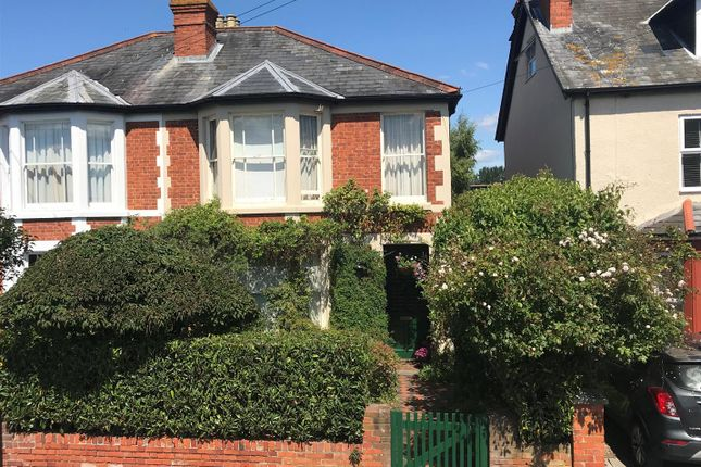 Thumbnail Semi-detached house for sale in Craven Road, Newbury