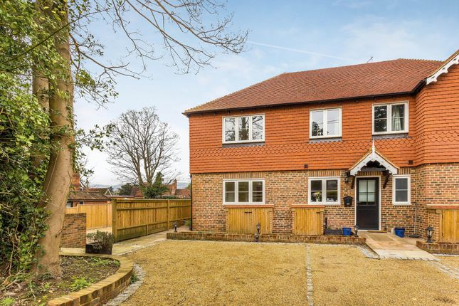Thumbnail End terrace house for sale in Hookwood Park, Oxted