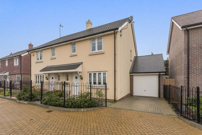 Semi-detached house for sale in Ringley Road, Horsham, West Sussex