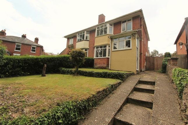 Thumbnail Semi-detached house for sale in The Crescent, Portsmouth Road, Southampton