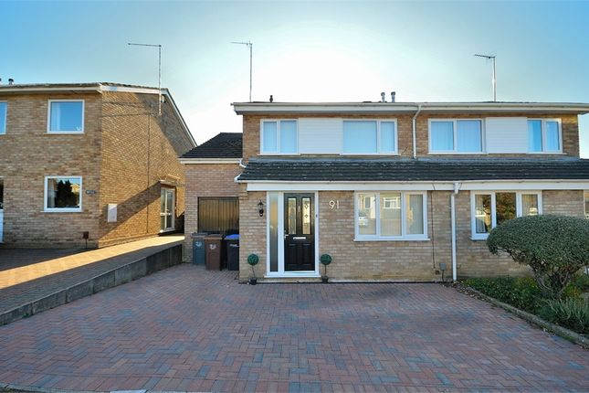 Thumbnail Semi-detached house for sale in Sherwood Avenue, Kingsthorpe, Northampton