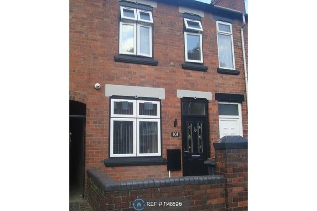 Thumbnail Terraced house to rent in Friarswood Road, Newcastle-Under-Lyme