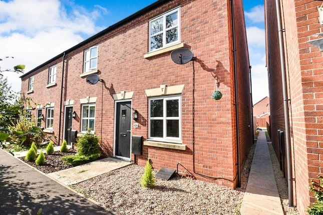 Thumbnail Terraced house to rent in Blakeholme Court, Burton-On-Trent
