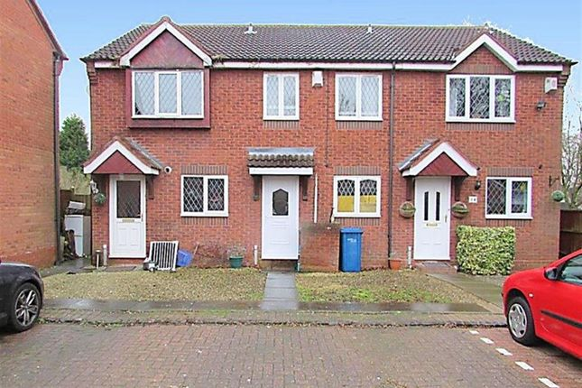 Thumbnail Terraced house to rent in Bronte Court, Tamworth, Staffordshire