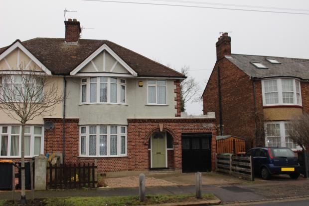 Thumbnail Semi-detached house to rent in Kingsbrook Road, Bedford