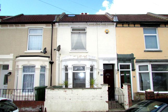 Thumbnail Terraced house to rent in Chesterfield Road, Portsmouth, Hampshire