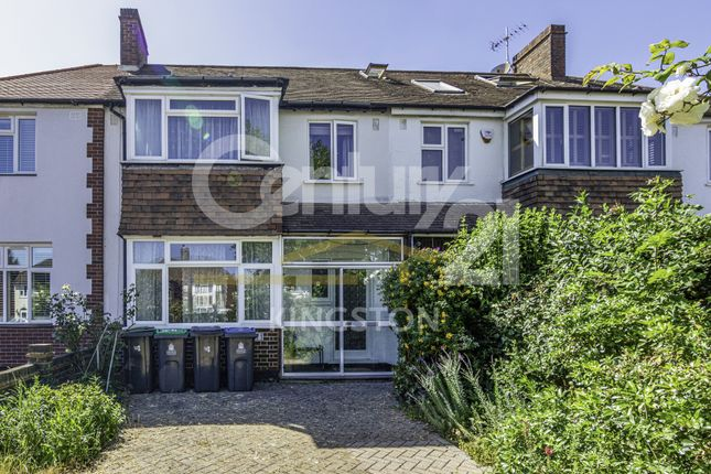 Thumbnail Terraced house for sale in Malden Road, New Malden, Surrey