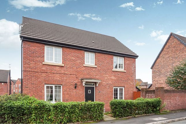 Thumbnail Detached house for sale in Kestrel Close, Hyde