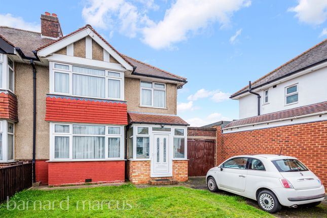 3 bed semi-detached house for sale in Silverdale Gardens, Hayes UB3