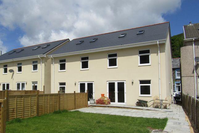 Thumbnail Semi-detached house for sale in Plot 1, Brynhyfryd Street, Cwmaman