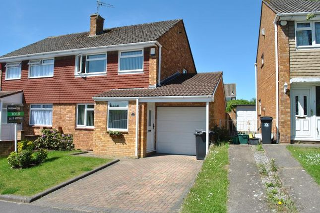 Thumbnail Semi-detached house to rent in Charnwood Road, Whitchurch, Bristol