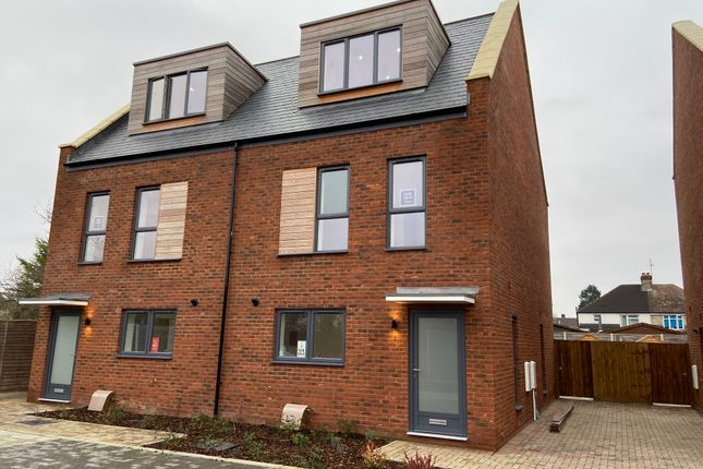 Thumbnail Semi-detached house for sale in Adkins Corner, Perne Road, Cambridge