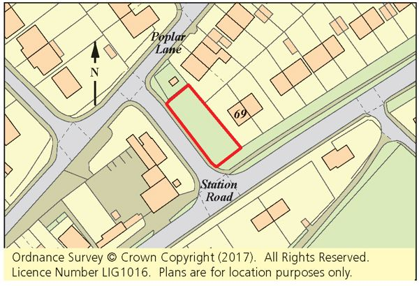 Thumbnail Land for sale in Land Adj. 69 Station Road, Lydd, Romney Marsh, Kent