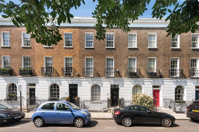 Thumbnail 4 bed terraced house for sale in Paultons Square, London