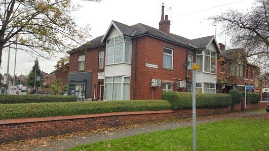 Thumbnail Flat to rent in Bury Road, Rochdale