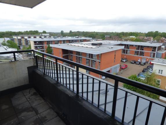 Balcony of Omega Court, The Gateway, Watford, Hertfordshire WD18
