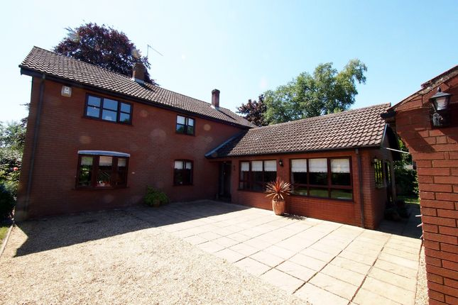 Thumbnail Detached house for sale in Church Road, Flixton, Bungay