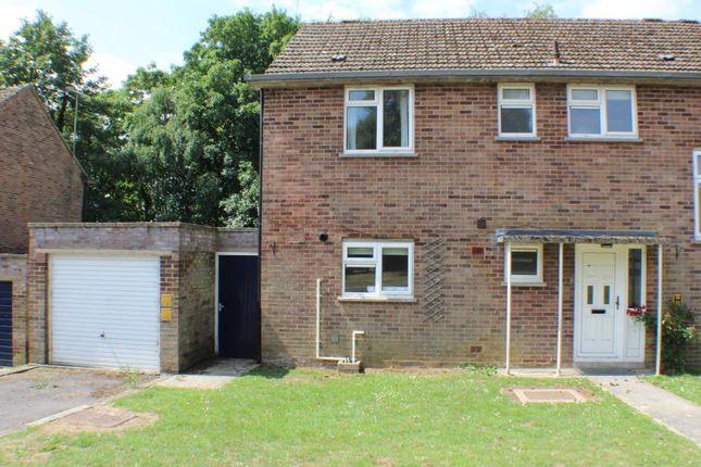 Thumbnail Semi-detached house to rent in Pintail Court, Lyneham, Chippenham