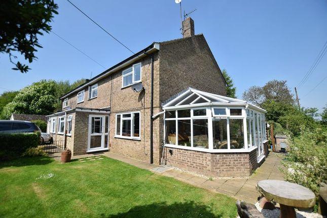 Thumbnail Semi-detached house for sale in Chapel Road, Fillingham, Gainsborough