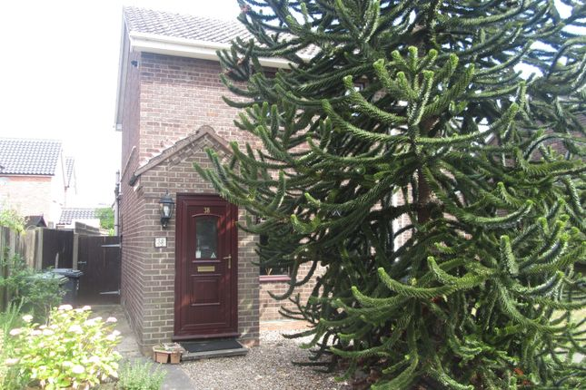 Thumbnail End terrace house to rent in The Laurels, Hopton