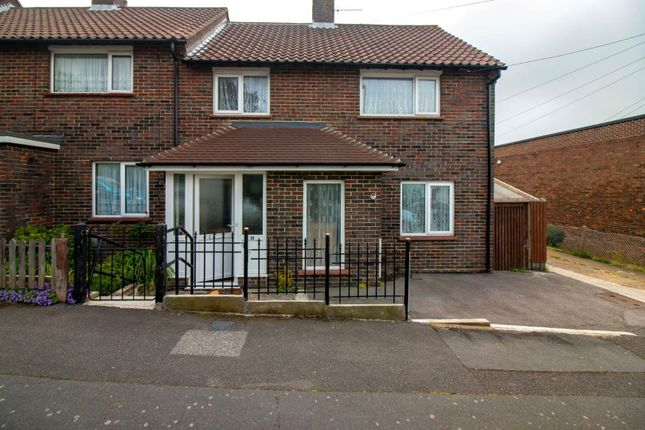 Thumbnail End terrace house for sale in Beatty Road, Folkestone