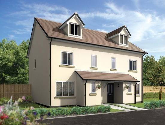 Thumbnail Semi-detached house for sale in Dobwalls, Liskeard, Cornwall